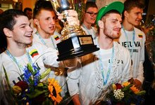 U20 sutiktuvės Vilniuje
