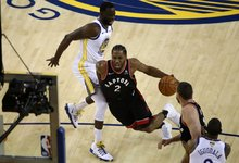 "NBA finalas: ""Warriors"" – ""Raptors"""