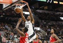 "NBA: ""Spurs"" – ""Raptors"""
