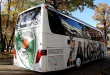"""Atnaujintas """"Žalgirio"""" autobusas"""