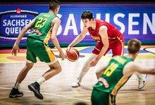 FIBA U20: Lietuva – Juodkalnija