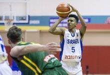 U18: Lietuva – Izraelis
