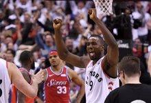 "NBA: ""Raptors"" – ""76ers"""