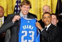 B.Obamos sveikinimas NBA čempionams