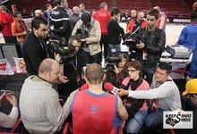 CSKA treniruotė