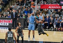 "NBA: ""Grizzlies"" – ""Spurs"""