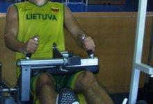 Rinktinė treniruojasi Ispanijoje