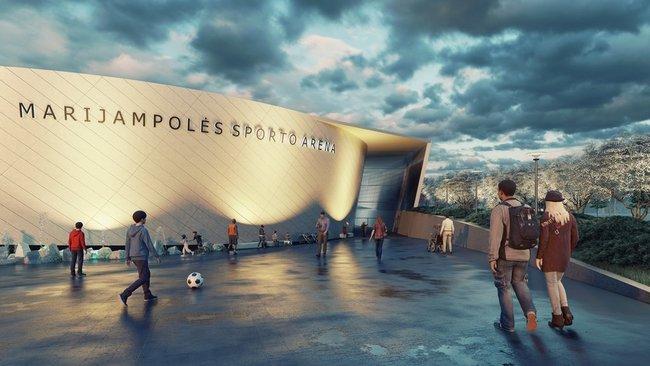 Marijampolės arenos projektas