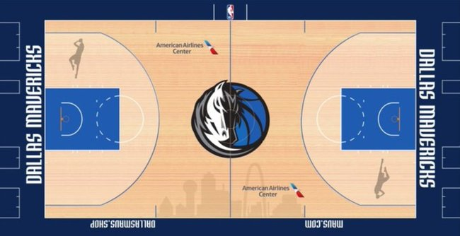 Mavericks parketas