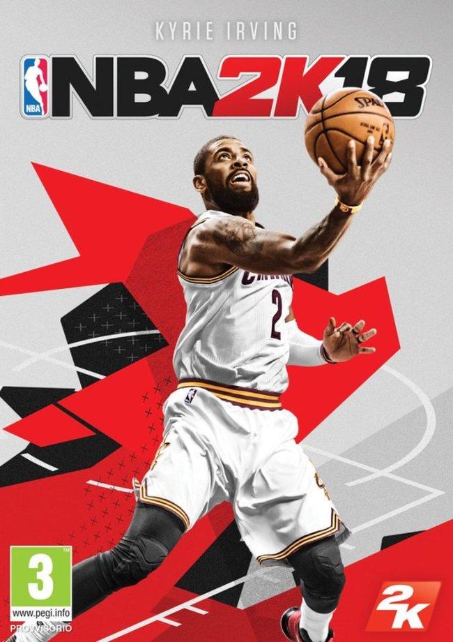 NBA 2k18 viršelis
