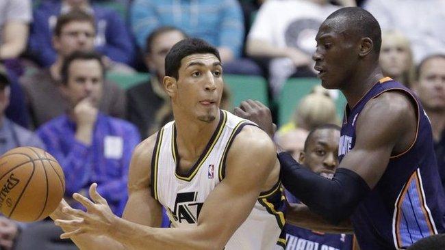 E.Kanteris NBA žaidžia antrą sezoną (Scanpix)