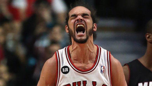 J.Noah šį sezoną pagal žaidimą gynyboje NBA neprilygo niekas (Scanpix)