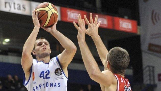 V.Vasylius sužaidė geriausias karjeros rungtynes Europos taurės turnyre (Fotodiena.lt)