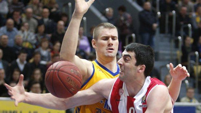 G.Shermadini veda derybas su Ukrainos čempionais (Scanpix)
