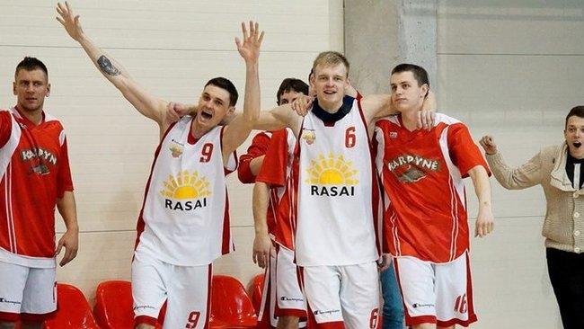 Raseinių krepšininkai – RKL čempionai