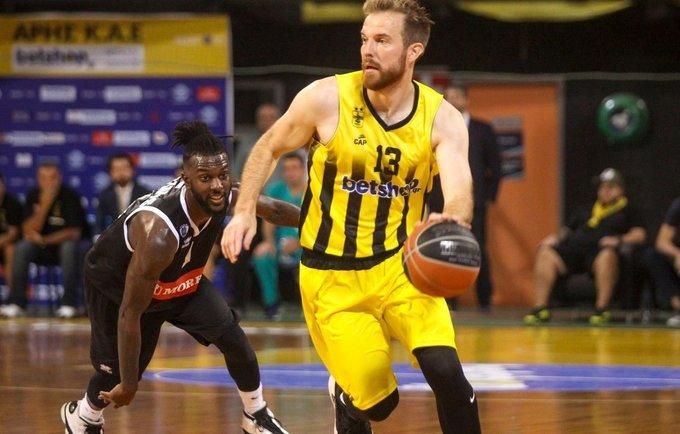 M.Gecevičius pelnė 19 taškų