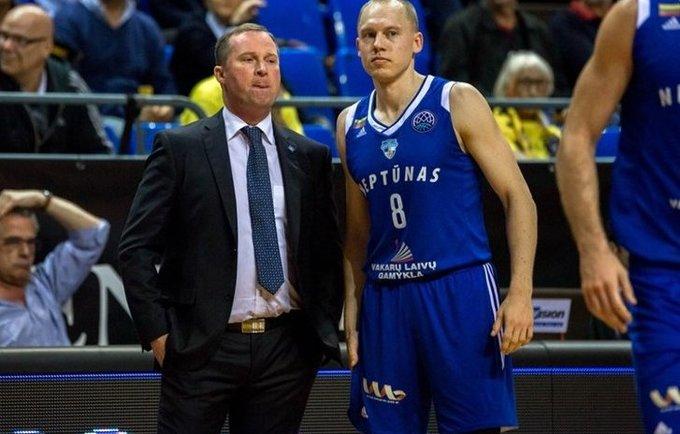 K.Maksvytis ir M.Girdžiūnas kartu uostamiestyje nebedirbs (FIBA Europe nuotr.)