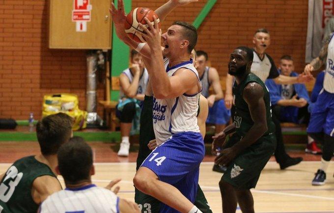 P.Petrilevičius pelnė 13 taškų (Foto: Vytautas Mikaitis)