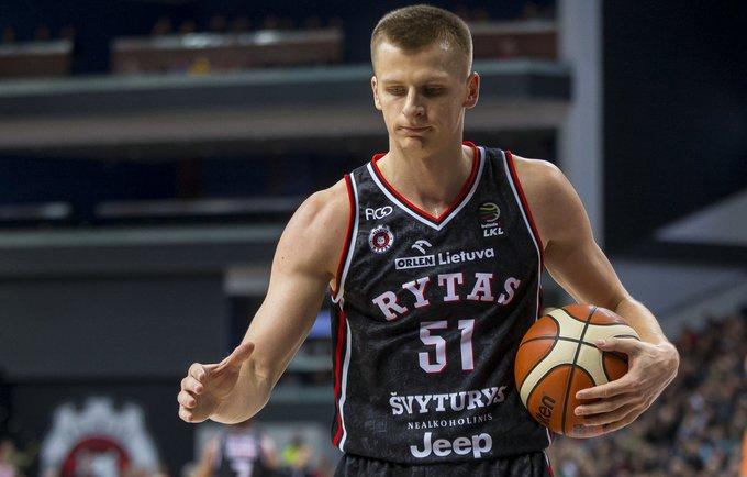 A.Butkevičius sužaidė geriausias sezono rungtynes Europos taurėje (BNS nuotr.)