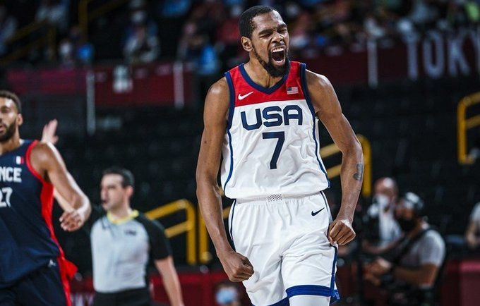 K.Durantas teigė, kad kelias aukso link nebuvo lengvas (FIBA nuotr.)