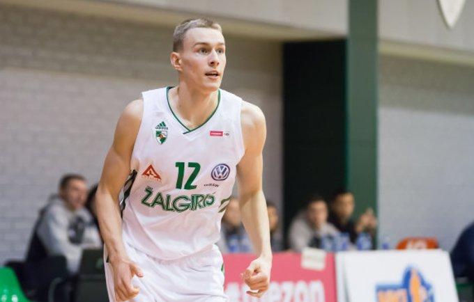 L.Vaištaras pelnė 14 taškų (Dainiaus Lukštos, NKL nuotr.)