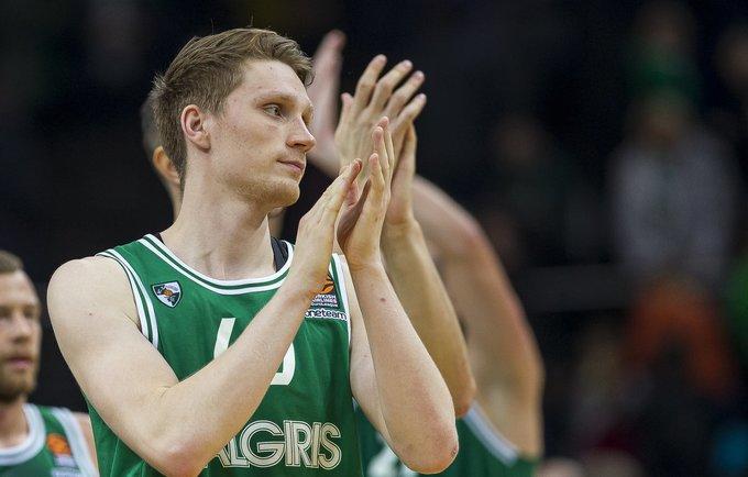 M.Grigonis tapo rungtynių didvyriu (BNS nuotr.)