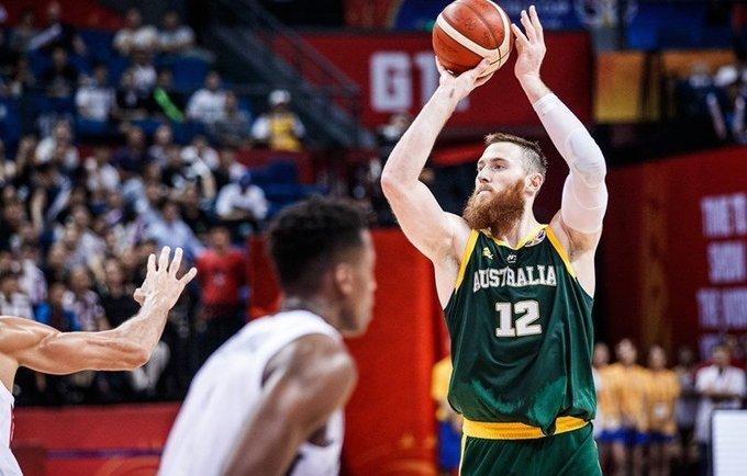 A.Baynesas rodė snaiperio sugebėjimus (FIBA nuotr.)