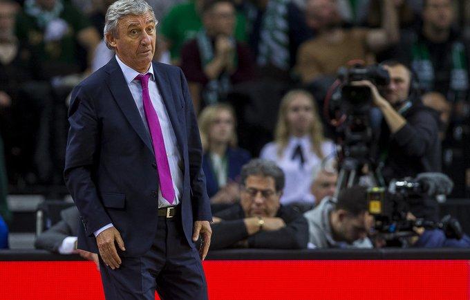 S.Pešičius džiaugėsi savo komanda (BNS nuotr.)