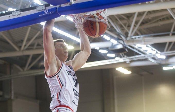 A.Butkevičius yra brangiausias menedžerio žaidėjas žaidimo starte (BNS nuotr.)