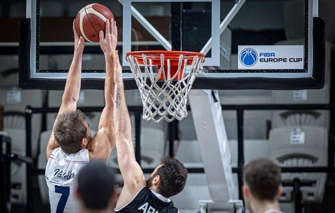 A.Valeika išnaudojo pražangų limitą (FIBA Europe nuotr.)