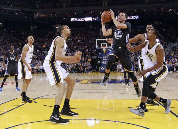 S.Curry sukūrė gražiausią NBA dienos epizodą (Scanpix nuotr.)