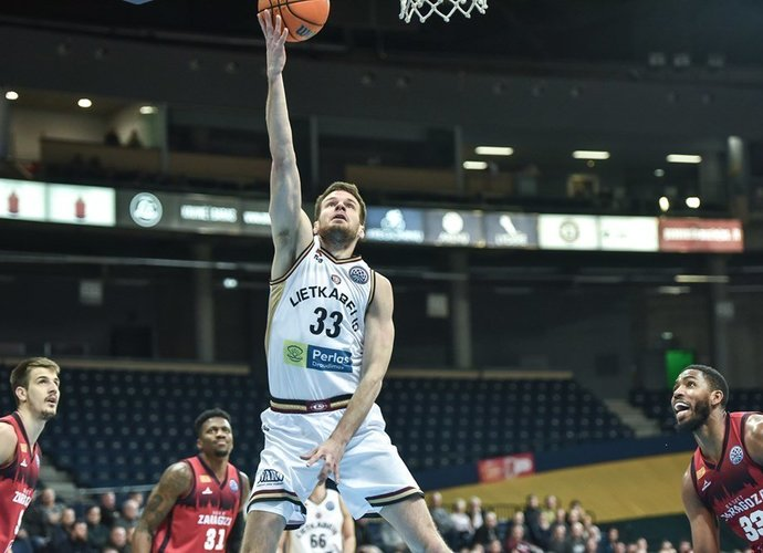 T.Dimša grįžo į Kauno klubą (FIBA Europe nuotr.)