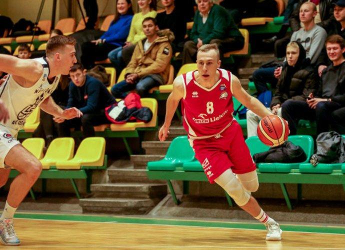 A.Venckus žais Vilkaviškio klube (Foto: Matas Baranauskas)