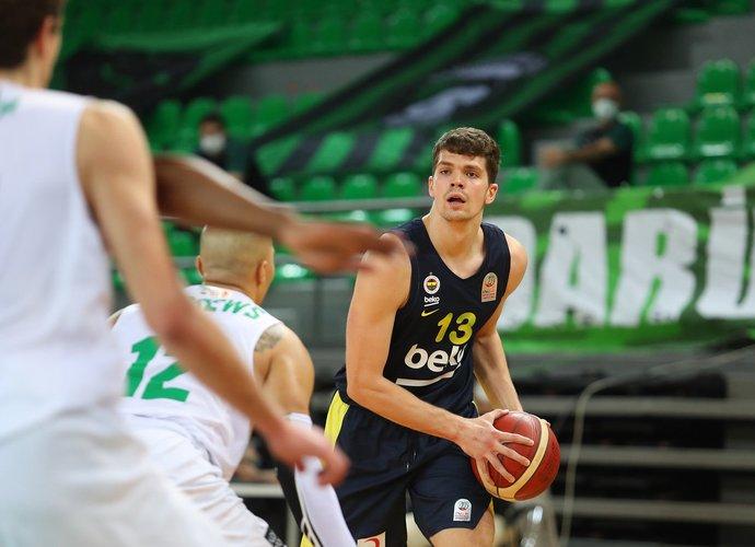 T.Biberovičius įmetė 10 taškų