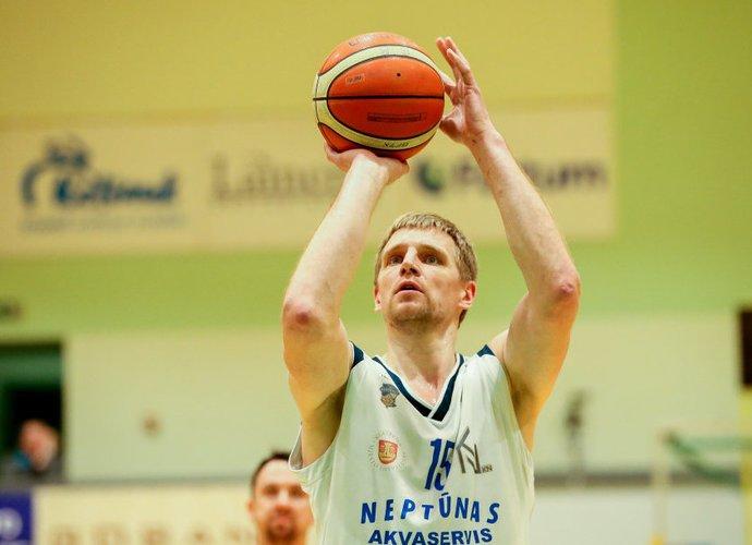 V.Šarakauskas ir toliau žaidžia puikiai (Mato Baranausko, Fotodiena.lt nuotr.)