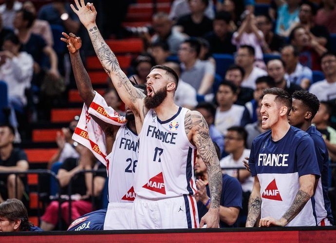 V.Poirier sukūrė dienos momentą (FIBA nuotr.)