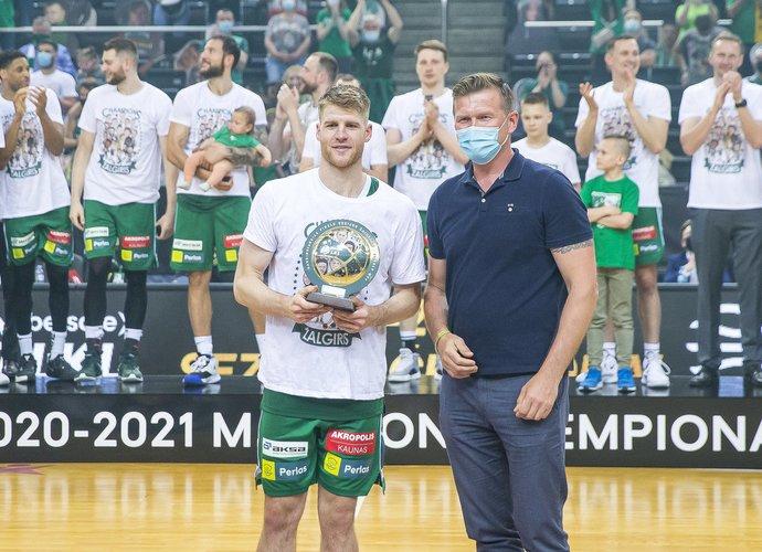 Th.Walkupas sezoną baigė kaip MVP (BNS nuotr.)