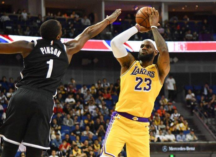 "L.Jamesas buvo ""Lakers"" vedlys (Scanpix nuotr.)"