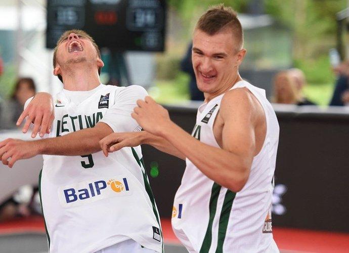 Lietuviai tapo čempionais (FIBA nuotr.)