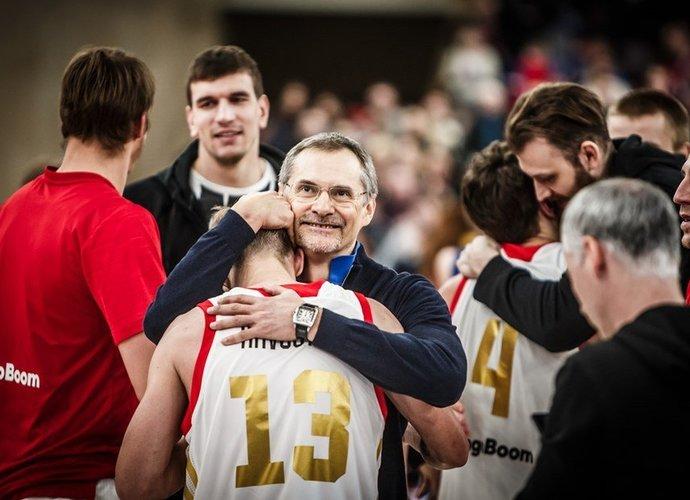 Rusai puikiai sužaidė mačo pabaigoje (FIBA Europe nuotr.)