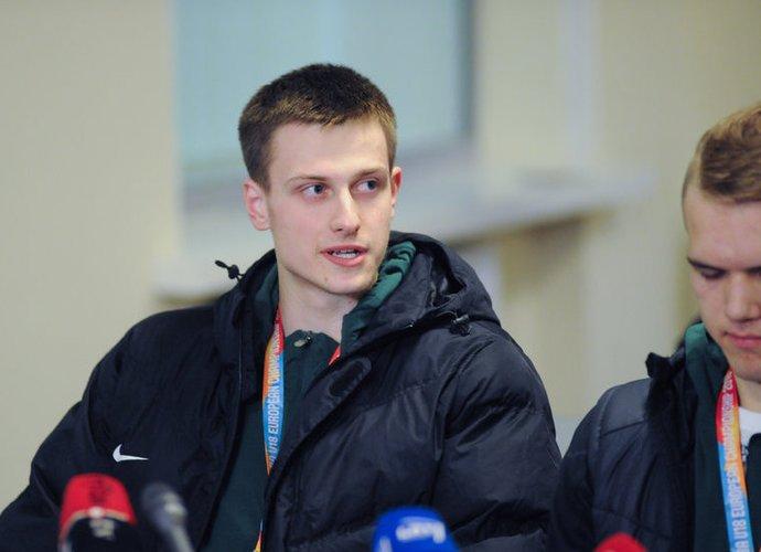 Dž.Slavinskas vėl žais NKL (Fotodiena.lt)