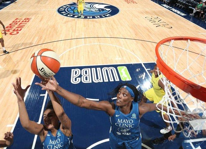 """WNBA kovos turėtų startuoti šį mėnesį (nuotr. """"Twitter"""")"""