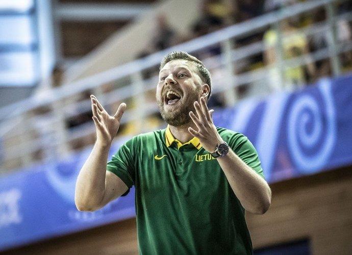 G.Petrausko auklėtinių laukia ketvirtfinalio barjeras (FIBA nuotr.)