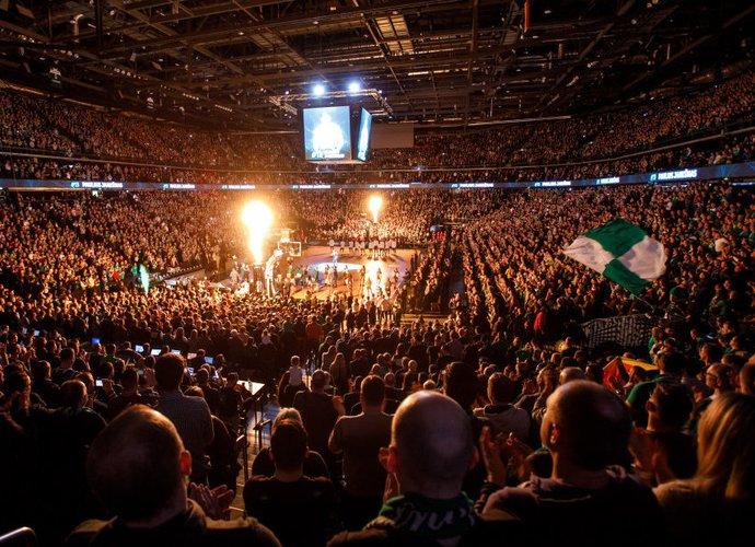 """""""Žalgirio"""" arena kelia Eurolygos žaidėjų susižavėjimą (BNS nuotr.)"""
