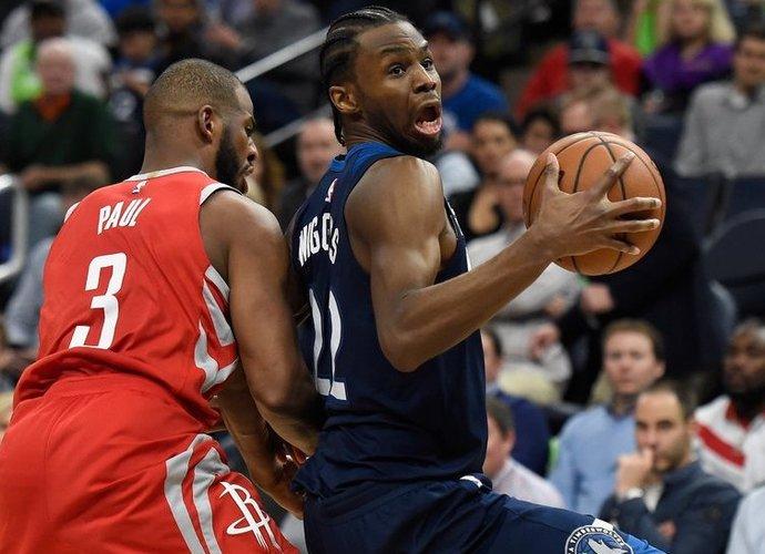 A.Wigginsas praėjusiame NBA sezone pelnydavo 18,1 taško (Scanpix nuotr.)
