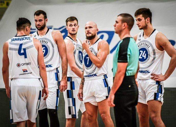 """""""Neptūnas"""" kurį laiką žaisti negalės (FIBA Europe nuotr.)"""