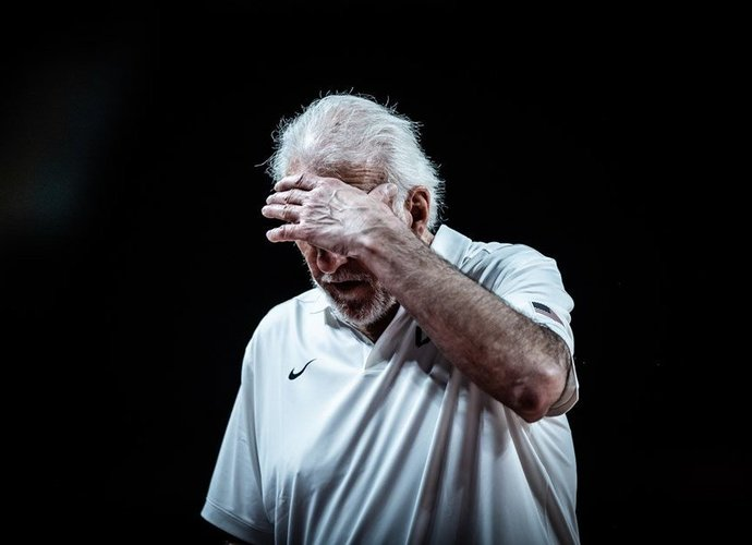 G.Popovičius nesureikšmino pralaimėjimo prancūzams (FIBA nuotr.)