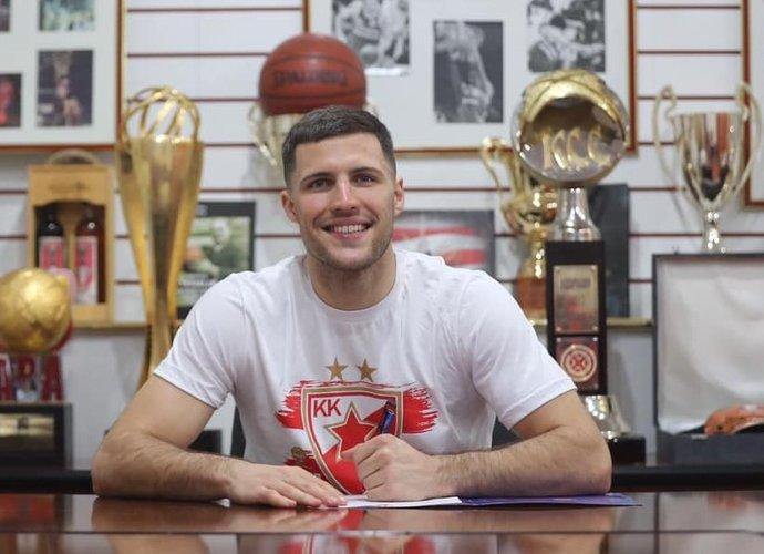 B.Baronas pasirašė naują sutartį po triumfo Serbijos čempionate