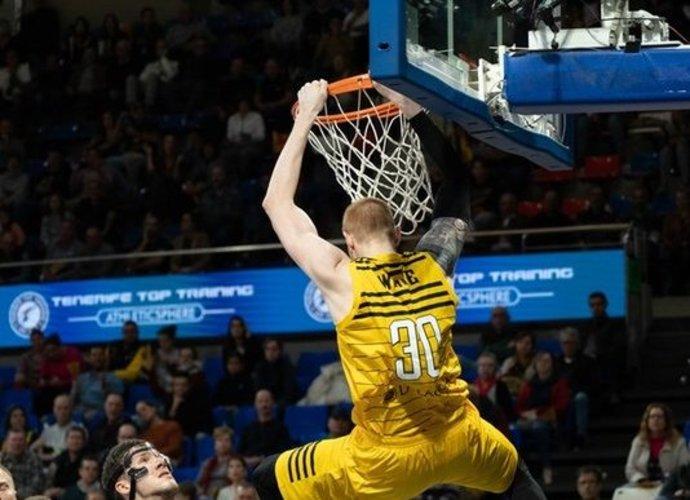 A.White'as pelnė 12 taškų (FIBA Europe nuotr.)