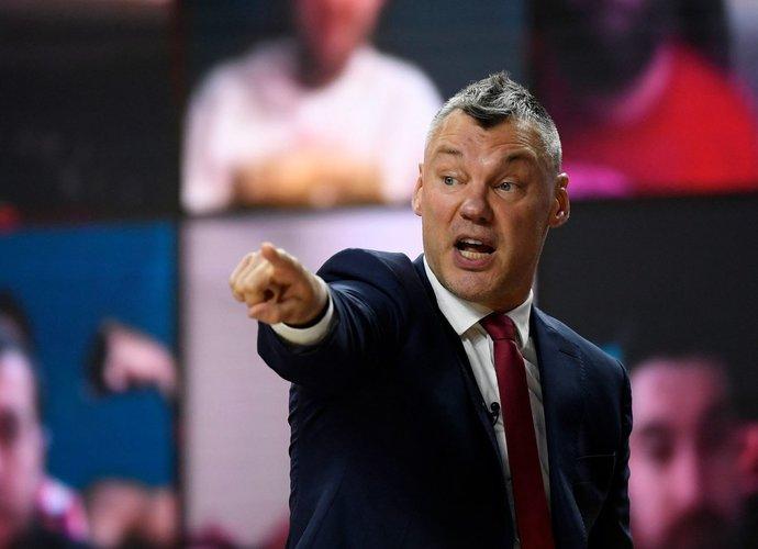 Š.Jasikevičius pasakojo apie vasaros darbus (Scanpix nuotr.)
